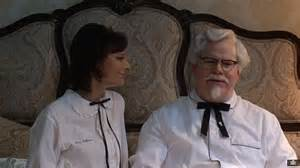 Kfc gave colonel sanders played by jim gaffigan a nightmare in their
