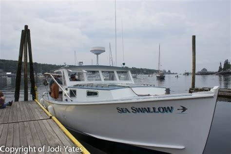 lobster boat sternman captain clive sternman sherman picture of lobster boat