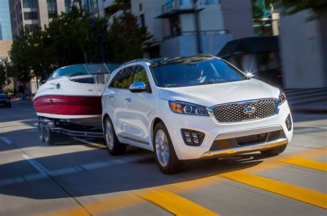 who makes the kia automobile 2016 kia sorento makes official u s debut in l a