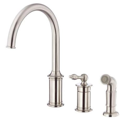 Danze Faucets Home Depot by Danze Prince Single Handle Standard Kitchen Faucet With