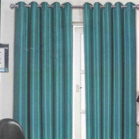 Teal Curtains Teal Eyelet Curtains Harry Corry Limited