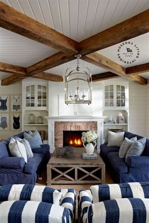 Beams In Living Room Living Rooms With Exposed Wooden Beams Comfydwelling