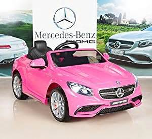 Pink Mercedes Power Wheels Mercedes S63 12v Electric Power