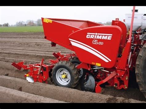 Grimme Potato Planter by Grimme Gl 420 Rt 300 Potato Planter Rotary Tiller