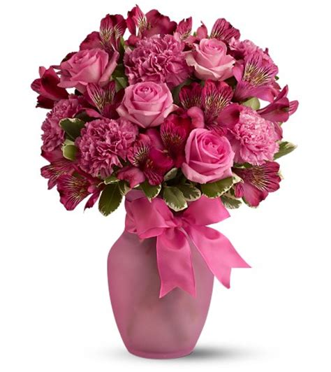 beautiful flowers in a vase interior4you