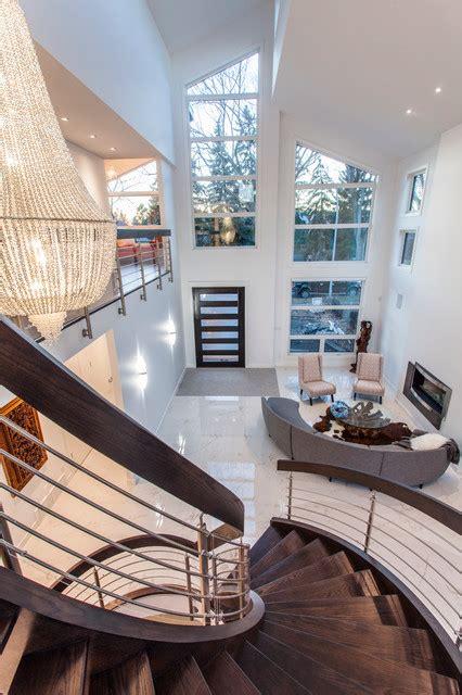 edmonton modern custom infill modern living room