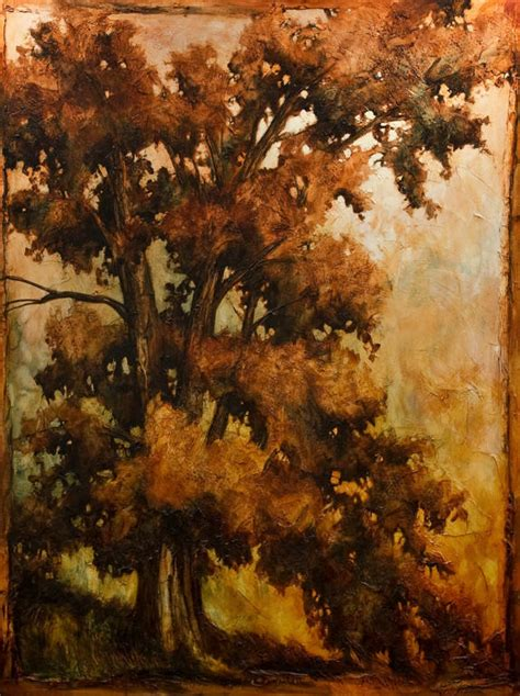Canvas Without Frame The Giant Oak By David Langevin