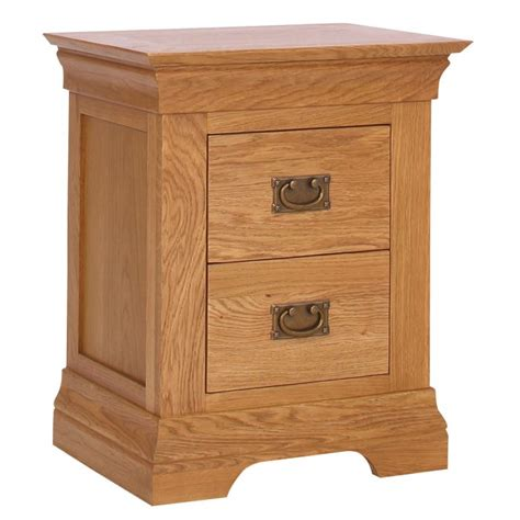 loire solid oak farmhouse solid oak bedside cabinets