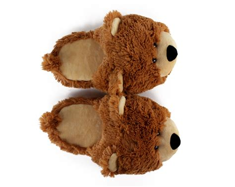 bears slippers fuzzy slippers teddy slippers slippers