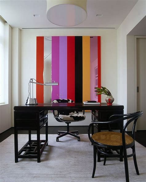 home office wall 10 striped home office accent wall ideas inspirations