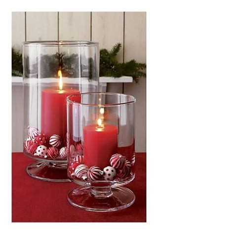 candles christmas and centerpieces on pinterest