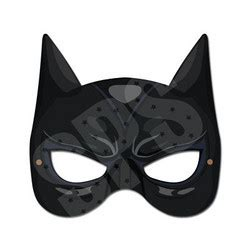 catwoman mask template