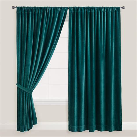 teal velvet curtains master bathroom our humble abode page 3