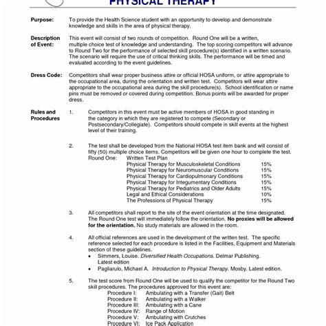 entry level physical therapist resume luxury physical