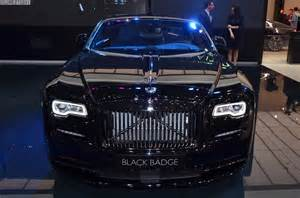 Rolls Royce Price Live Rolls Royce Handed A Wraith Black Badge To The