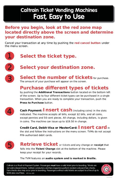 how to use how to use ticket vending machine