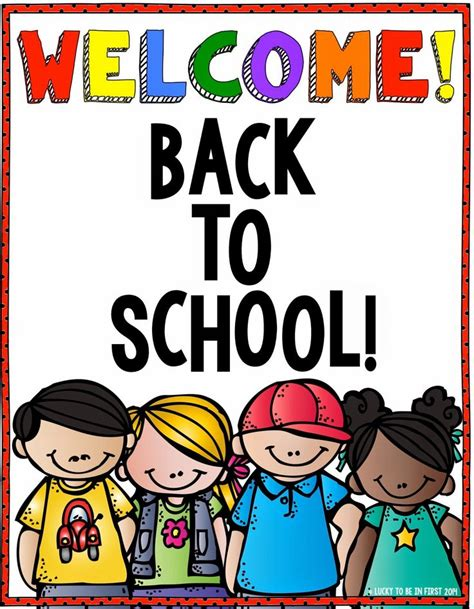 5 Amazing Ways To Welcome 2010 by Welcome Your Students Back To School With This Poster