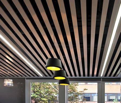 ceilings metal linear