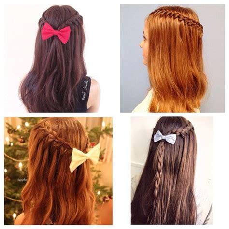tutorial kepang rambut keren foto punya rambut panjang memang ribet tapi enaknya
