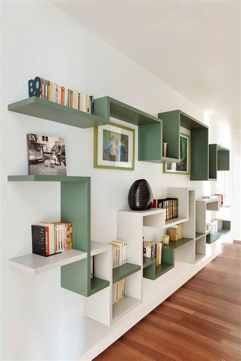 librerie a muro sospese librerie sospese a muro libreria a mensole movida with