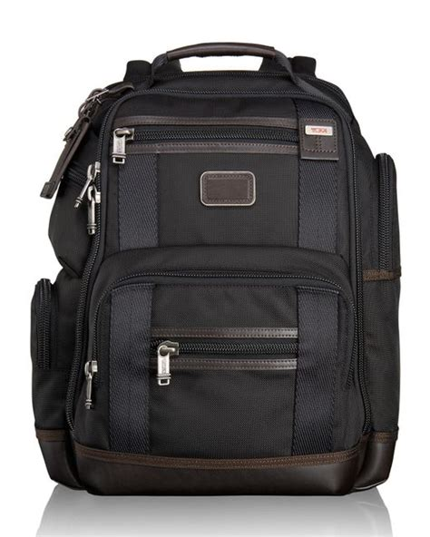 Tumi Kingsville Deluxe Brief Pack 222382nvy2 tumi alpha bravo hickory kingsville deluxe brief pack in