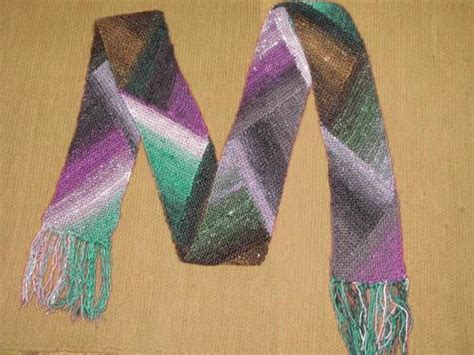 knitting pattern yarn forward scarf pattern that s suited for using self striping sock