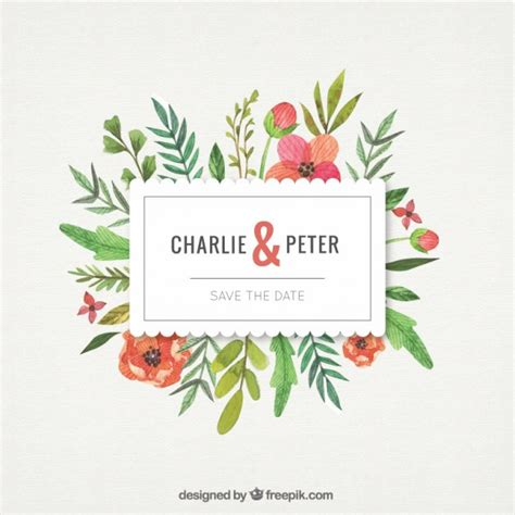 ornaments wedding flowers with leaves wedding ornament vector free
