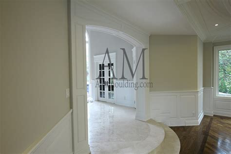 custom millwork arches panels casing openings  toronto