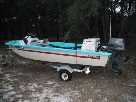 sears gamefisher boat 1988 14 foot sears gamefisher small boat for sale in lee fl
