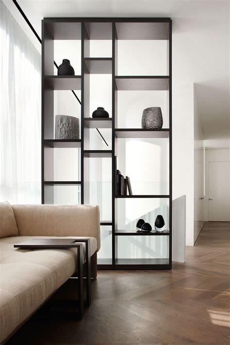 bookshelf partition 5 stylish storage solutions designer cave