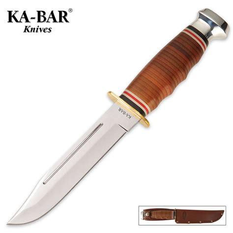 ka bar marine ka bar marine knife with leather sheath budk