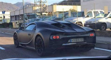 camo bugatti bugatti chiron prototypes spotted again wearing less camo