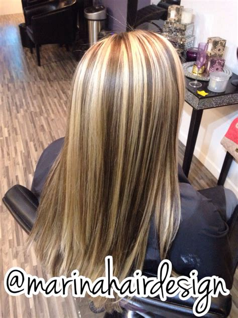 what are chunky highlights chunky streaks hairstyles fade haircut