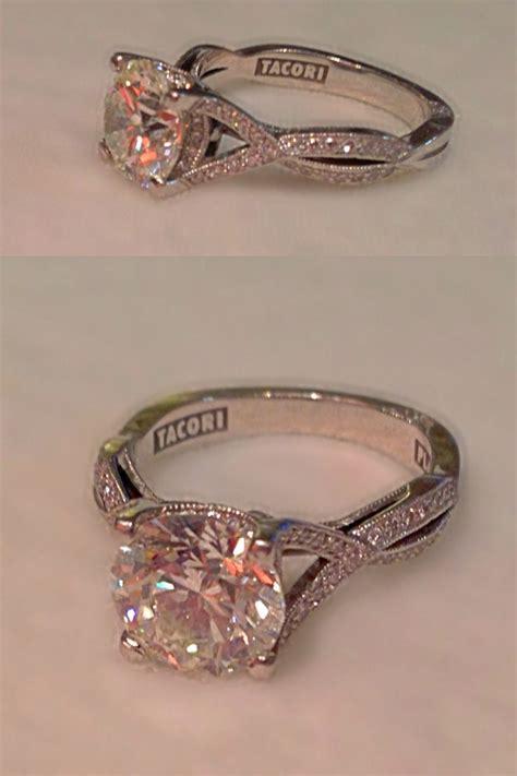 my amazing engagement ring tacori style 2565 platinum