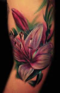 color flower tattoos color by hatefulss on deviantart