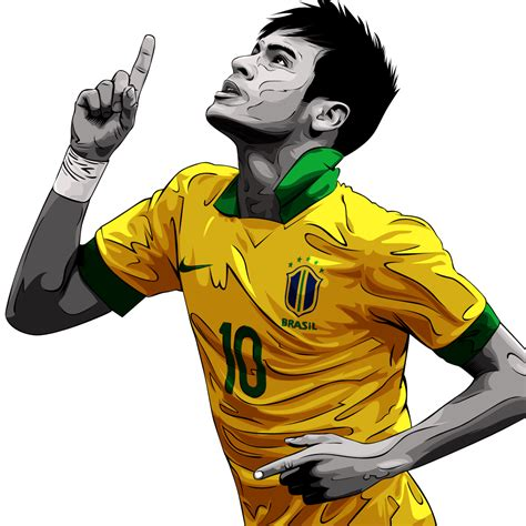 wallpaper neymar cartoon neymar jr clipart collection