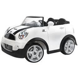 12v Mini Cooper Ride On Mini Cooper Car 12 Volt Ride On White Pacific Cycle