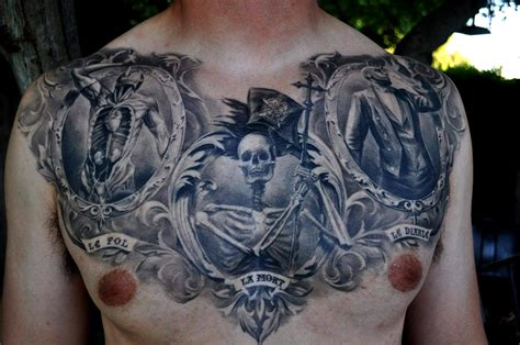 sick chest tattoos featured artist carlos torres sick tattoos