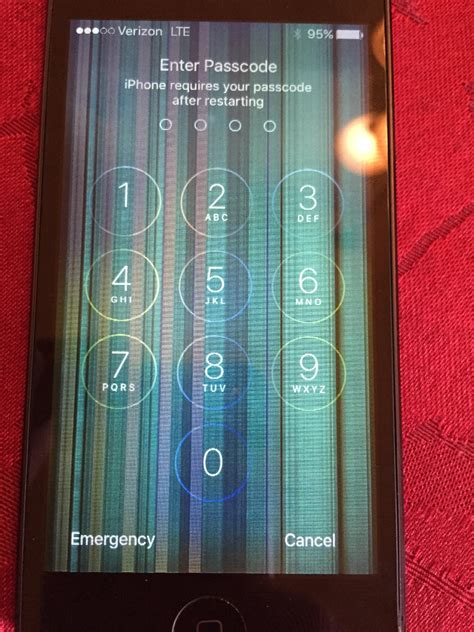 iphone linesbarsboxes  screen ifixit support