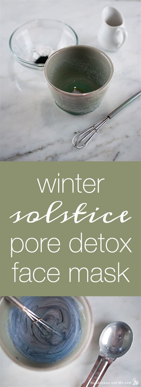 What Is The Point Of A Detox Mask by Winter Solstice Pore Detox Mask Humblebee Me