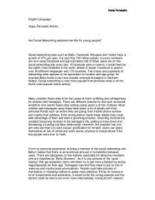 Media And Networking Essay by Essay About Media And Networking Social Media And Networking And The Media Essay