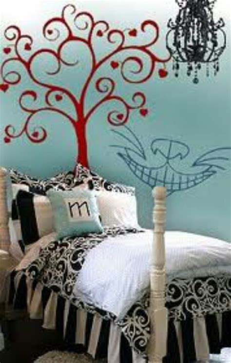 alice in wonderland inspired bedroom alice in wonderland bedroom theme bedroom ideas pinterest