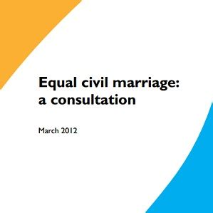 Uk equal marriage consultation