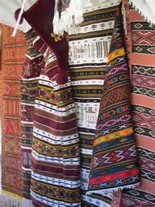 le travail du tissage dans la d 233 coration marocaine salon