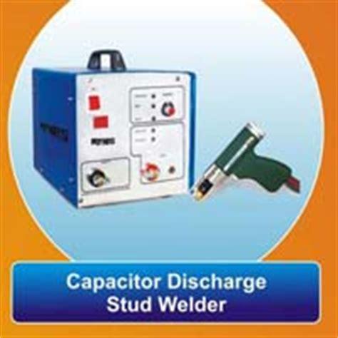 capacitor discharge stud welder stud welding machine manufacturers suppliers exporters in india