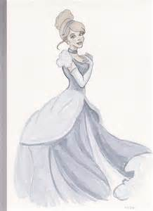 cinderella copic ciao sketch monkeygareth deviantart