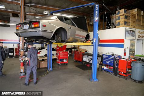 Garage Of Cars by Z Car Garage Where Datsun Geeks Rule Speedhunters