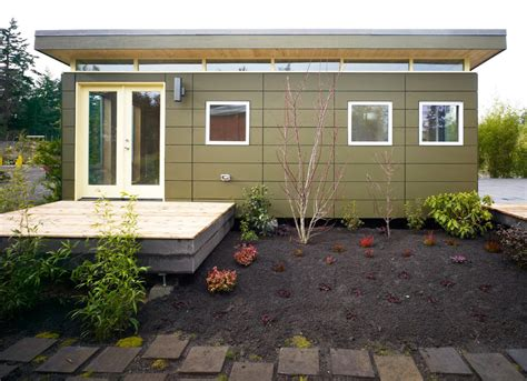 yard design for mobile home plans for guest house in backyard joy studio design