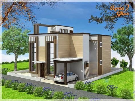 house designing duplex house design apnaghar house design