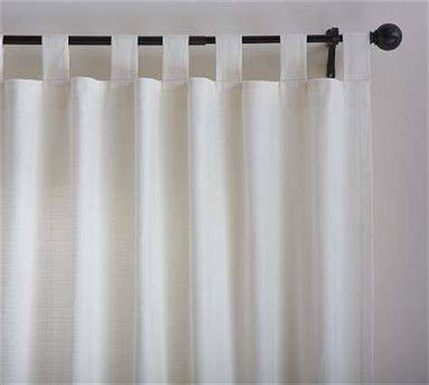 ivory cotton curtains textured cotton tab top 50 x 63 quot ivory traditional
